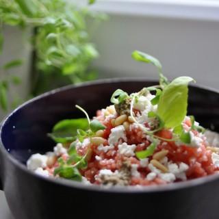rote beete risotto