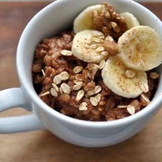 porridge mit kakao 2